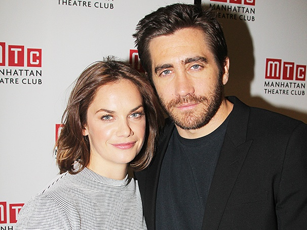 Photo of Ruth Wilson & her friend actor  Jake Gyllenhaal  - Los Angeles