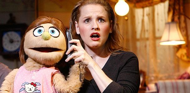 Anika Larsen: Doing Double Duty in Avenue Q