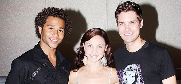 It's a Happy Mermaid Reunion for High School Musical Star Corbin Bleu