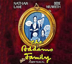 Complete Cast Set for The Addams Family