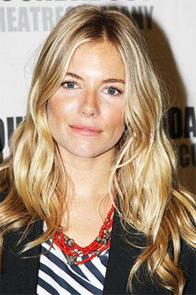 Sienna Miller Chats with Letterman