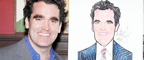 Shrek Star Brian d'Arcy James Revels in Sardi's Honor