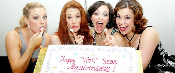 Off-Broadway's Marvelous Wonderettes Ring in Their One-Year Anniversary