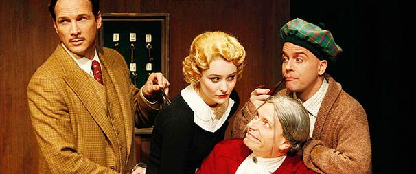 The 39 Steps Eyes Off-Broadway Transfer