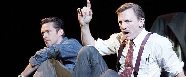 Last Chance to See Hugh Jackman & Daniel Craig in A Steady Rain... Great Seats Available!
