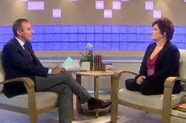 Carrie Fisher Shows Matt Lauer Her Legs on Today