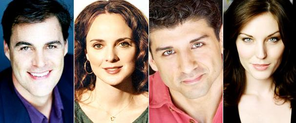 James Clow, Melissa Errico, Tony Yazbeck and Mara Davi Ring in the Holidays in White Christmas