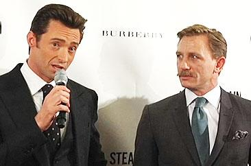 Daniel Craig & Hugh Jackman: The Opening Night Press Conference