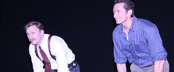 Stars Welcome Daniel Craig & Hugh Jackman Back to the Stage at Steady Rain Opening