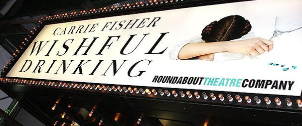 Celebs Line Up to Toast Carrie Fisher's Wishful Drinking
