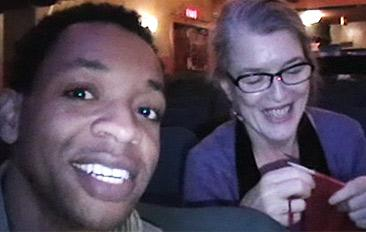 Derrick Baskin Memphis Video Blog #3: Knitting with Cass, Chatting with Joe & More!