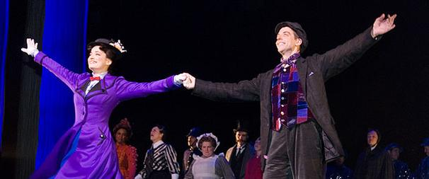 New Mary Poppins Stars Bow on Broadway in a Most Delightful Way