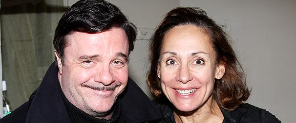 Addams Family Star Nathan Lane Reunites with Laurie Metcalf at Brighton Beach Memoirs