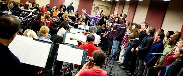 Ragtime's Road to Broadway, Part 3: First Orchestra Rehearsal