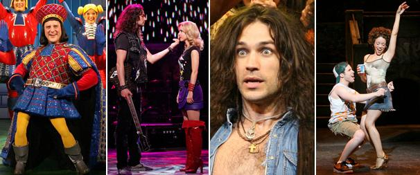 Sieber, Swenson, In the Heights, Rock of Ages Win Big at Golden Mullet Awards