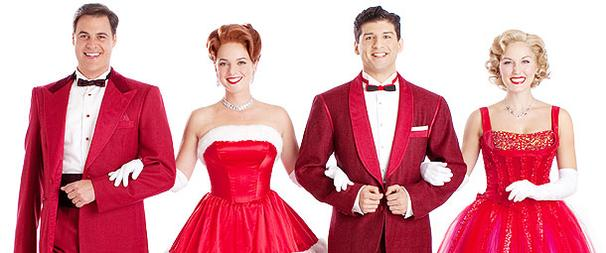First Look! Were Dreaming of a Fabulous New Cast in White Christmas