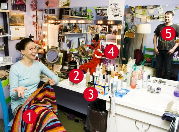 Shrek Princess Sutton Foster's Broadway Dressing Room Treasures