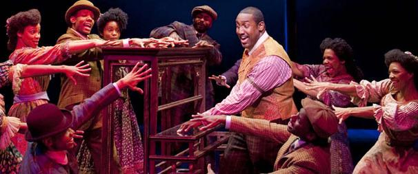 It's His Time for Ragtime Star Quentin Earl Darrington