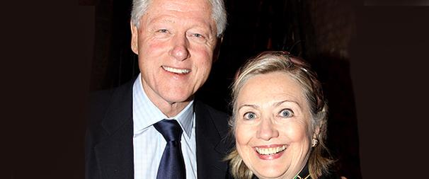 The 39 Steps Spends Thanksgiving with The Clintons