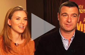 'Did You Say Bonerable?' Liev & Scarlett Open Up About A View from the Bridge