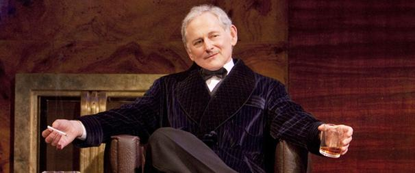 First Look! Victor Garber Drums Up Laughter on Broadway