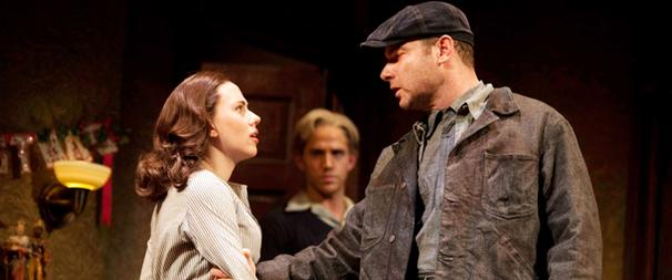 First Look! A View of B'way's Bridge, Starring Scarlett Johansson and Liev Schreiber