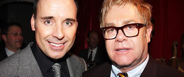 Sir Elton John and David Furnish Join Producing Team for Broadway's Next Fall