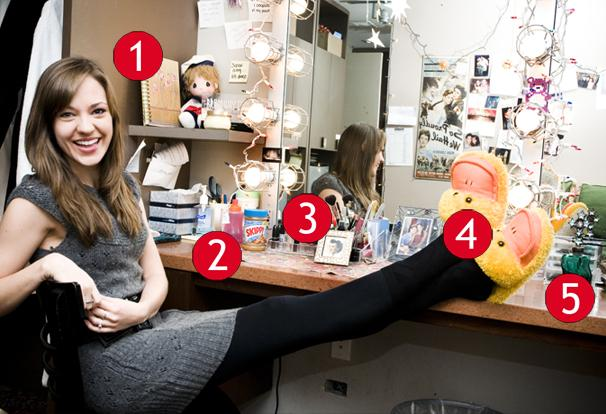 South Pacific Star Laura Osnes Shows Off Some Enchanted Keepsakes