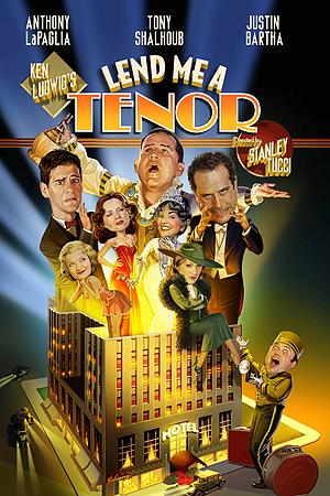 Lend Me a Tenor Sings on Opening Night