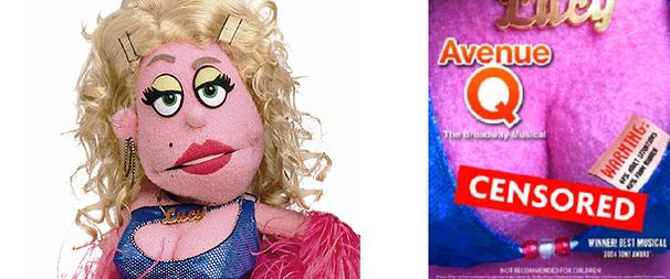 Bazooms Ban! Avenue Q's Lucy The Slut Responds to Colorado Ad Controversy