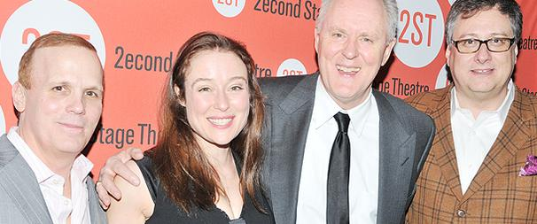 John Lithgow and Jennifer Ehle Get the Crowd Buzzing at Mr. and Mrs. Fitch Opening