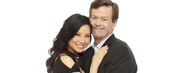 Lucy Liu Heads to Late Night
