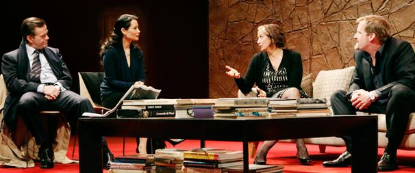 First Look! Dylan Baker, Jeff Daniels, Lucy Liu and Janet McTeer Enter Broadway's Carnage