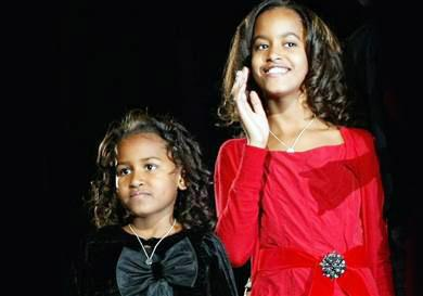 A Family Affair: Obama Gals Check Out Another Broadway Musical