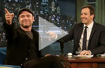 Liev Schreiber Feels Sexy After Late Night with Jimmy Fallon Appearance