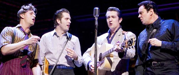 Million Dollar Quartet Will Rock Off-Broadway's New World Stages Beginning July 28