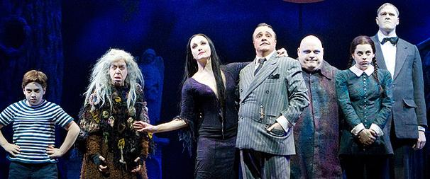 The Addams Family, Memphis Top 2010 Broadway.com Audience Award Nominations, Chosen by Theatergoers