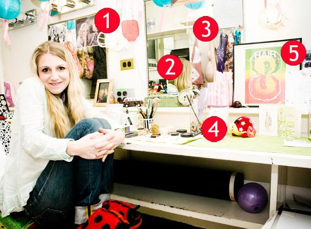 Hair Star Annaleigh Ashford Feels the Love in Her Backstage Space