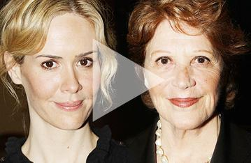 Cool, Calm and Collected: Linda Lavin & Sarah Paulson Get Ready to Go Head to Head on Broadway