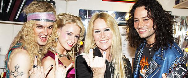 Girl Power! Runaway Bad Girl Lita Ford and Family Hit Rock of Ages