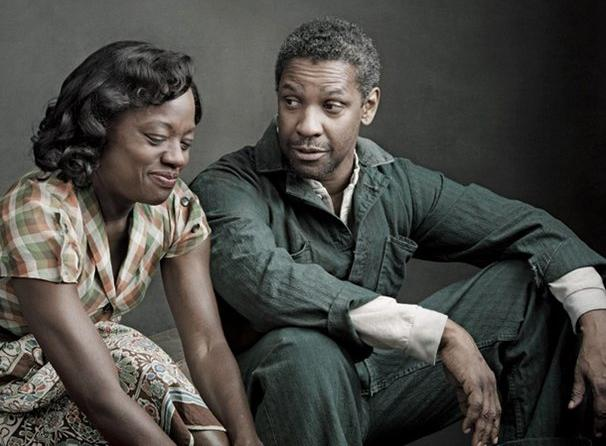 Fences Stars Denzel Washington and Viola Davis Dress Down for Vogue