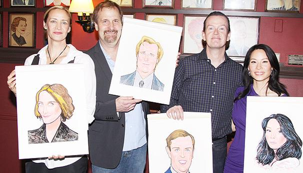 God of Carnage's Fab Four Get Honored at Sardi's