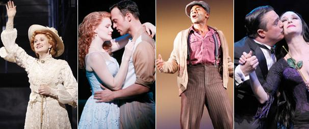 Ragtime, The Scottsboro Boys, The Addams Family and Finian's Rainbow Top Nominations for 2010 Drama Desk Awards