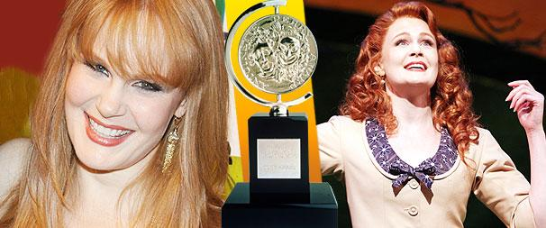 Finian's Rainbow Tony Nominee Kate Baldwin Avoids a Puddle Plunge