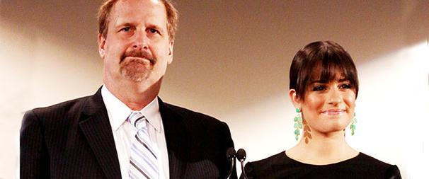 Lea Michele and Jeff Daniels Get Up Early to Announce 2010 Tony Nominations