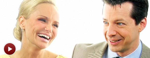 Fall in Love with Promises Stars Kristin Chenoweth and Sean Hayes as They Answer Your Questions!