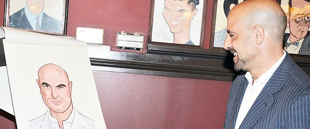 Lend Me a Portrait! Actor/Director Stanley Tucci Goes On the Wall at Sardi's