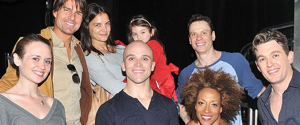 Tom Cruise, Katie Holmes & Suri Come Fly Away to Broadway!