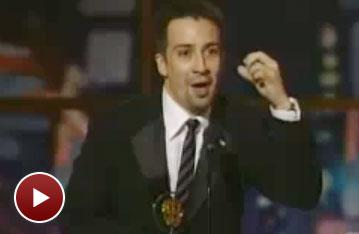 Flashback! Lin-Manuel Miranda Makes a Hat at the 2008 Tony Awards