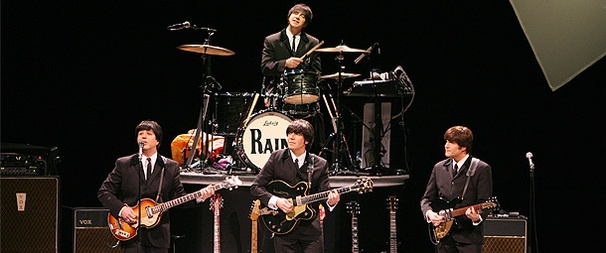 Beatles Tribute Show Rain Books Fall Run at Neil Simon Theatre